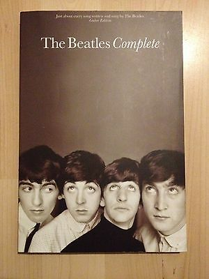 Beatles Complete Guitar Chord Shapes & Lyrics Book