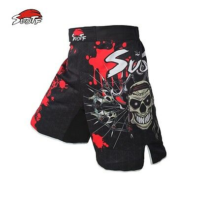 Red Skull Pirate fitness boxing workout breathable pants  MMA pants cheap