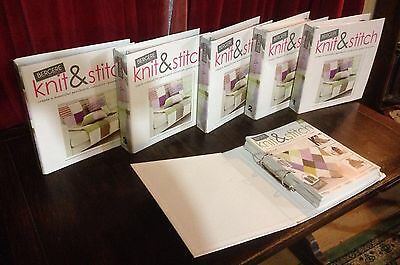Knit And Stitch - Complete Collection Magazines And Wool