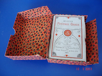 ~~~~~~~~~~~~~Vintage Playing Cards In Original Case - Year - 1927~~~~~~