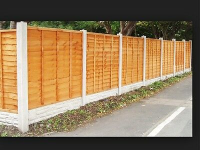 6x2 Waney lap fence panels. SUPER HEAVY DUTY. £9.95