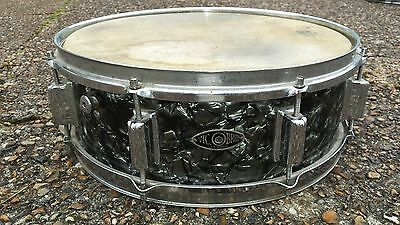 "1960's Vic O'Brien snare drum: 14"" x 5"""