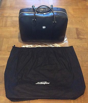 Genuine Lamborghini Leather Bag  *brand New* (Ref 2)