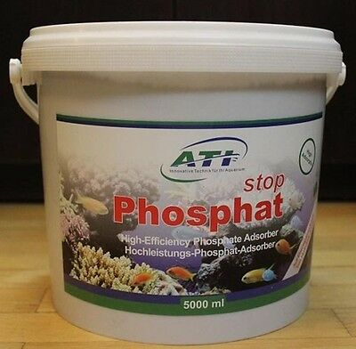 ATI Phosphate Stop 5000ml Commercial Pack Filter Media Fish Tank Remover Marine