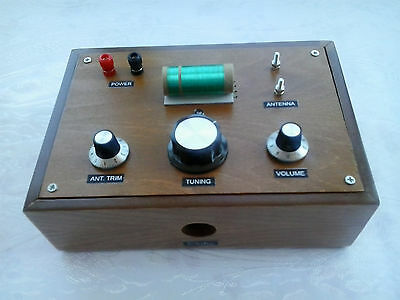 An Extraordinary Am (Medium Wave) 1N34A Crystal Radio