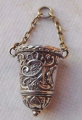 Antique Thimble From A Chatelaine