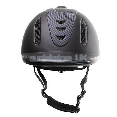 SAFETY LOW PROFILE WESTERN HORSE RIDING HELMET HEAD PROTECTOR Size Medium