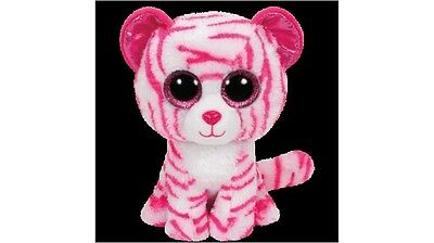 """TY Beanie Boo 6"""" White Tiger Plush Toy Ideal as a Bedroom Display"""