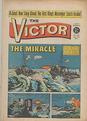 The Victor 528 Very Fine 3Rd Apr 1971 Dc Thomson Uk Comic
