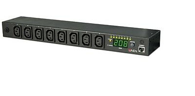 LINDY IP Power Switch Classic 8 (Power Management over IP) Remote Main Power
