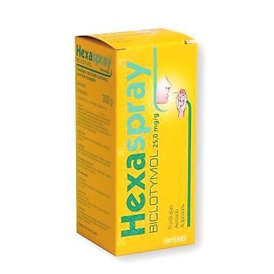 HEXASPRAY Mouth Spray - Sore Inflamed Throat, Tonsils, Ulcers, Gums, Infection!