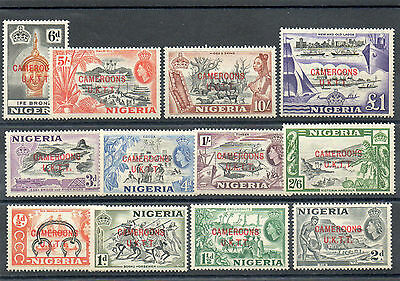 Sg T1 To Sg T12 Cameroons N/h/mint Set Complete Cat £25