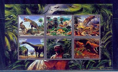 togo / 2016 dinosaurs series....... /good condition
