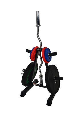 Weight Plate & Barbell Storage Weights Tree Olympic Plates Storage