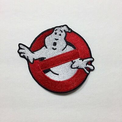 """Ghostbusters Movie No Ghosts Logo Embroidered Patch 3.5"""""""