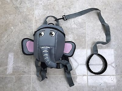 New Toddler Elephant Backpack and detachable Reins