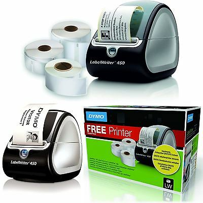 DYMO LabelWriter 450 Label Writer + 3 x Labels included - Free Next Day Delivery