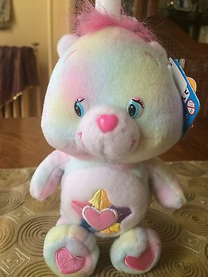 Care Bears TRUE HEART BEARCollector's Edition Series #4 Pretty Pastel NWT HTF✔️