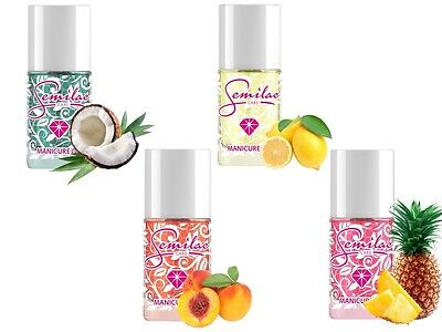 Semilac Oil 100% Original MANICURE Cuticle and Nail Oil Care Aroma Fruits ES