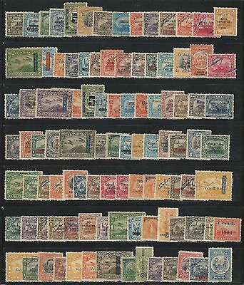 """Nicaragua: Lot of 100 different stamps unused, used """"As Is"""" resealed...NI35"""