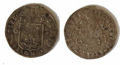 The Netherlands. Silver 6 Stuivers 1689