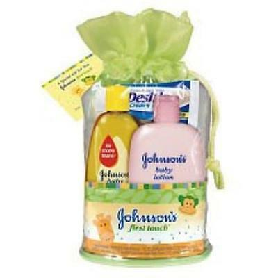 Johnsons First Touch Gift Set Johnsons Baby MYTODDLER New