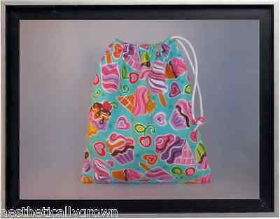 Gymnastics Leotard Grip Bags / Ice Cream n Popsicles Gymnast Birthday Goody Bag