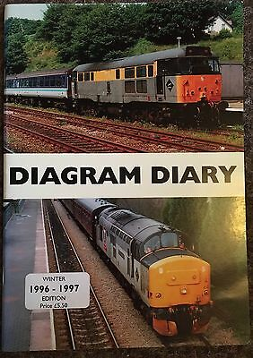 Diagram Diary (Loco Hauled Travel) Winter 96-97 Edition