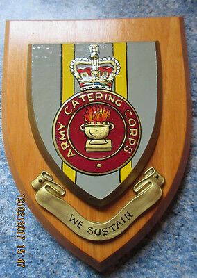 Wooden Plaque of the Army Catering Crops