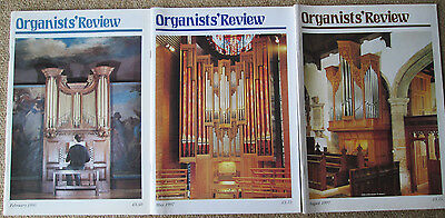 Organists' Review magazine. 3 issues - February 1995 and May, August1997/.