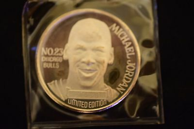 Michael Jordan 1991 Mvp 1 Ounce .999 Fine Silver Round Coin Limited #4699