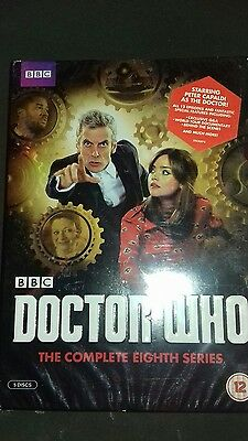 doctor who complete eighth series dvd