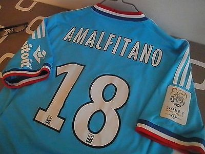 Maillot Olympique de Marseille 2012/2013 taille M Amalfitano