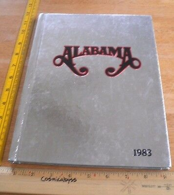 Alabama the band 1983 concert yearbook RARE