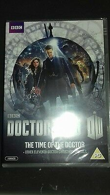 doctor who the time of the doctor dvd