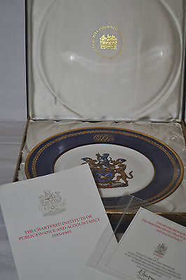The Chartered Institute Of Public Finance And Accountancy Centenary Plate - 1985