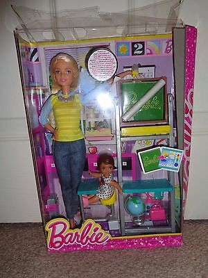Barbie Careers Complete Play Teacher & Child Dolls Playset Play Set Toy **NEW!**