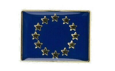 Europe EU Flag Lapel High Quality Enamel Badge Europa European  Euro Union