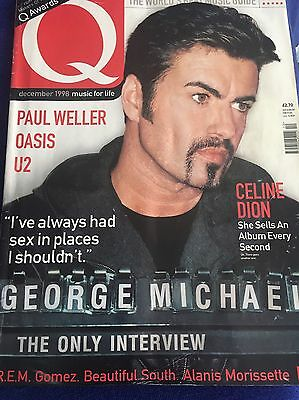 George Michael Q Magazine December 1998 Issue With 6 Page Interview