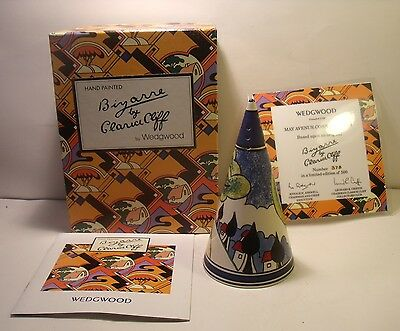 Wedgwood Clarice Cliff May Avenue Conical Sugar Sifter Ltd Edition