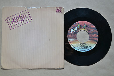 "Led Zeppelin Fool In The Rain/hot    7"" Vinilo Vinyl  Unico Ebay Rare"