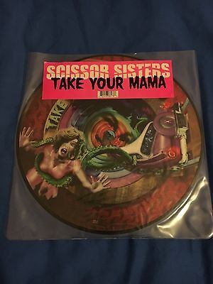 "Scissor Sisters - Take Your Mama 12"" Picture Disc"