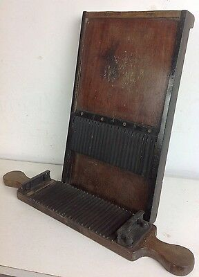Antique Bench Pill Maker Chemist Apothecary Old Brass Mahogany Mould