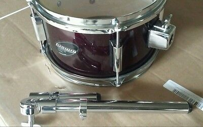 Ludwig jr. tom 10 X 6 wine red with Tom arm