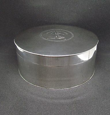 Antique 1787 London Sterling Silver Round Sweet/Trinket Box by Susannah Barker