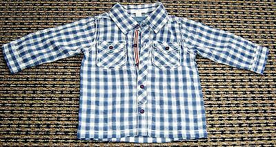 Baby Boys Shirt By Purebaby Sz 0 (6-12 Months)