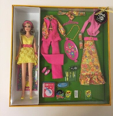 MIB BECKY DOLL MOST MOD PARTY 50TH ANNIVERSARY GOLD LABEL GIFT SET Barbie Friend