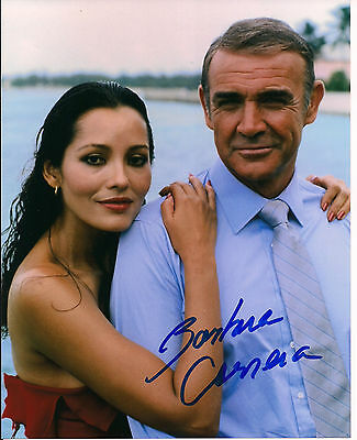 BARBARA CARRERA Original Hand Signed 8x10 Autograph Photograph James Bond