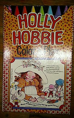 INTAGE HOLLY HOBBIE Color n' play Colorforms