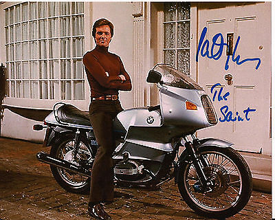 IAN OGILVY The SAINT Original Hand Signed Autograph 8x10 Photograph 2